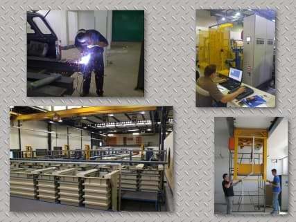 Plant installation with Structural, Mechanical, Electrical and Software