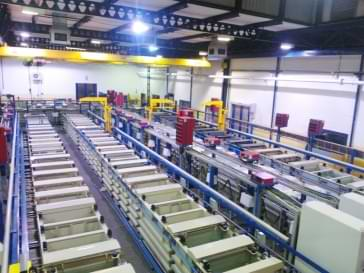 Modern turnkey plating shop